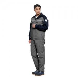 TB-67(상 , 하) [QUIL TING / BLUE JEAN]추동 작업복 세트현장작업복, 정비복, 상하한벌세트 작업복, 단체복, 작업복 주문, 회사단체복 제작, 춘추동작업복