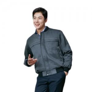 ZB-J175 추동복 점퍼작업복, 근무복, 사무근무복, 점퍼, 단체복, 유니폼, 항공점퍼, 현장근무복, 공장작업복, 깔끔한근무복