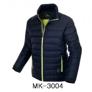 MK-3004 NAVY 액티브 웰론 자켓현장작업복, 겨울패딩, 겨울점퍼, 패딩점퍼, 단체작업복, 단체점퍼,겨울철건설현장작업복