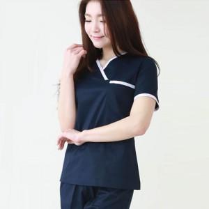 YN-8037 간호복 SET간호사복 남색 상하의세트 병원복 예쁜유니폼 반팔간호복 여름용간호사복 병원하복
