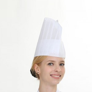 SOC-403 (22cm 小 종이모자 - 20개 1팩)조리모자,부직포모자,위생모자,주방모자,호텔,뷔페,레스토랑,음식점,업소용모자