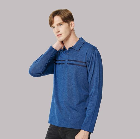 카치온 2줄나염 티셔츠