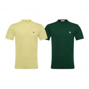 컬러 라운드 티셔츠 WILSON